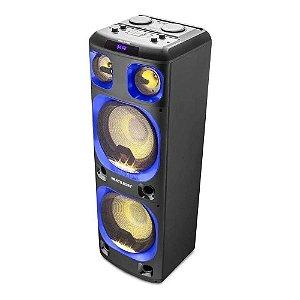 Caixa De Som Torre Double Multilaser 2000w Bt/aux/sd Sp343