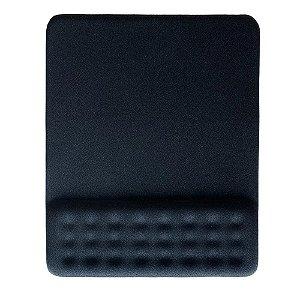 Mouse Pad Dot Com Apoio De Pulso Gel Preto Ac365