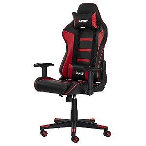 Cadeira Gamer II Preta com Vermelha FDA5959PRVM