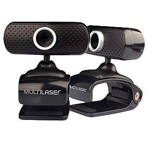 Webcam Multilaser 480p Sensor CMOS