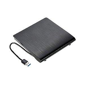 Gravador DVD Externo 3.0 Blucase Slim BGDE-04