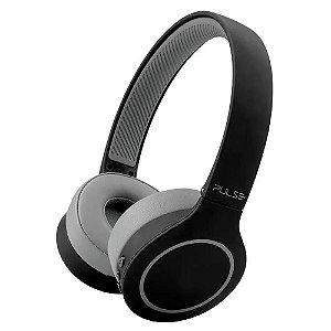 Headfhone Pulse Head Beats Bluetooth Preto-Cinza - PH339
