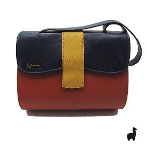 Bolsa Original Lhama em couro legítimo Colorida DFCGG2E6U
