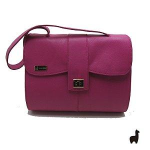 Bolsa Original Lhama em couro legítimo Pink PQYJHKNG4
