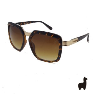 Óculos de Sol Original Lhama em Acetato e Metal VGWDLSZMR