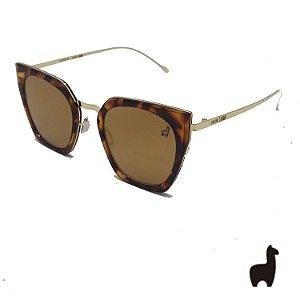 Óculos de Sol Original Lhama em Acetato Flat Lens JU8DVNCDC