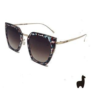Óculos de Sol Original Lhama em Acetato Flat Lens G5YXYH27H