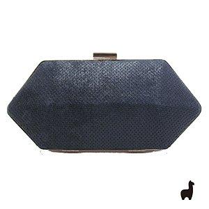 Bolsa Clutch em Metal e material sintético G4S6M37UV