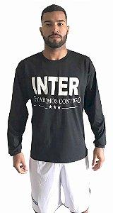 Camisa Manga Longa (Inter Estaremos Contigo).