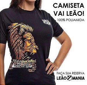 CAMISETA POLIAMIDA - VAI LEÃO
