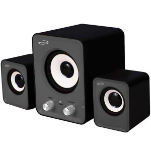 Caixa de Som 2.1 Power Song Com Subwoofer 16w - NewLink Sp202