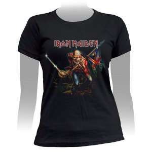 Camiseta Baby Look Iron Maiden The Trooper - Stamp BB-326