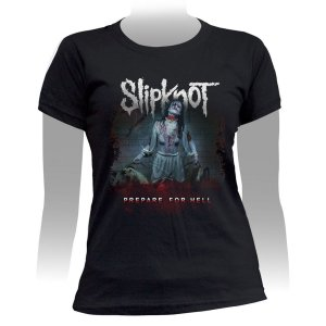 Camiseta Baby Look Slipknot Prepare For Hell - Stamp BB-367