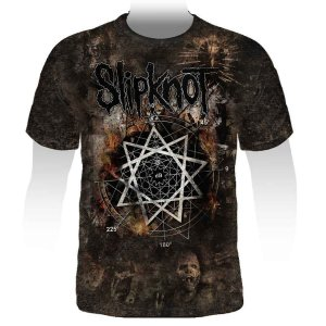 Camiseta Full Print Slipknot - Stamp FUL-015
