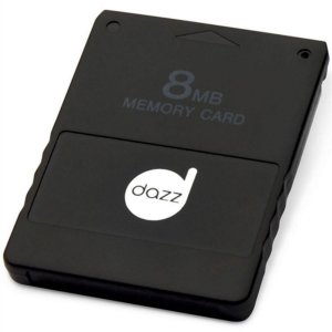 Memory Card Para Playstation 2 8mb - Dazz 621231