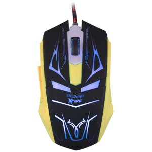 Mouse Gamer 3200 DPI 7 Botoes Xfire Led Azul - TecDrive Neith