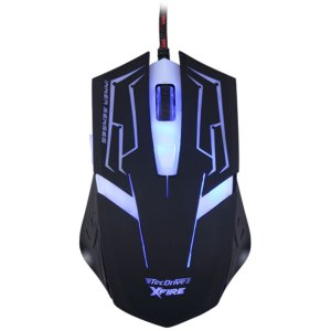 Mouse Gamer 3200 DPI 7 Botoes Xfire Led Azul - TecDrive Skanda