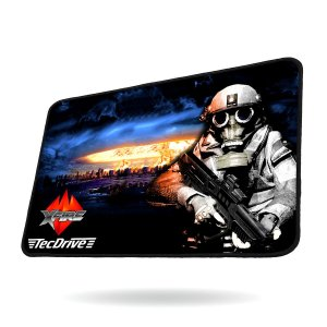 Mouse Pad Gamer Speed Xfire - TecDrive Nuclear Strike City
