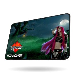 Mouse Pad Gamer Speed Xfire - TecDrive Princesa Da Selva