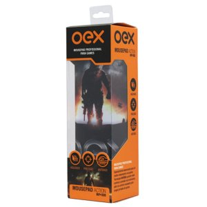 Mousepad Action Profissional Gamer - Oex Mp300