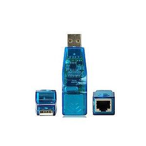 Placa de Rede USB para RJ45 AD4 - Empire 167