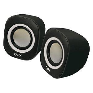 Caixa de Som Round 6W Rms P/b - Oex Sk100