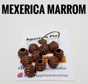 MIÇANGA APERTA O PLAY C/10 UNIDADES - MEXERICA MARROM