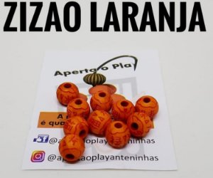 MIÇANGA APERTA O PLAY C/10 UNIDADES - ZIZAO LARANJA