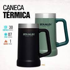 CANECA TERMICA STANLEY - PRETA (MATTE BLACK) 8040