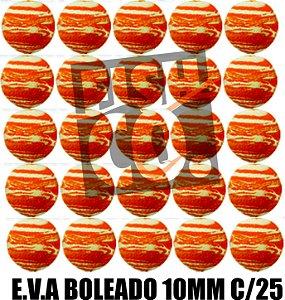 E.V.A 10MM APERTA O PLAY C/25 - LARANJA COM BRANCO