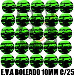 E.V.A 10MM APERTA O PLAY C/25 - VERDE COM PRETO