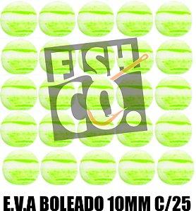 E.V.A 10MM APERTA O PLAY C/25 - VERDE COM BRANCO