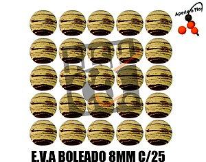E.V.A 8MM APERTA O PLAY C/25 - MARROM E BEGE
