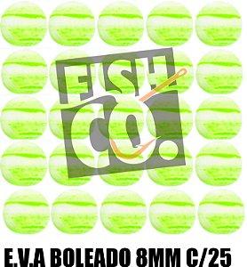 E.V.A 8MM APERTA O PLAY C/25 - VERDE COM BRANCO
