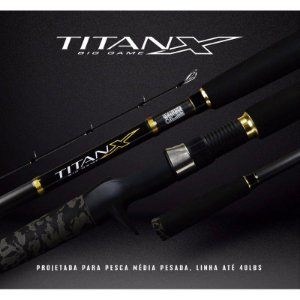 VARA TITAN X BIG GAME 802 (2,44m) 20-40lb
