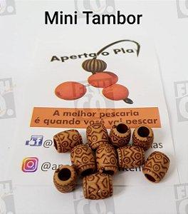 MIÇANGA APERTA O PLAY C/10 UNIDADES - MINI TAMBOR TRADICIONAL