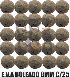 E.V.A 8MM APERTA O PLAY C/25 - BEGE E BRANCO