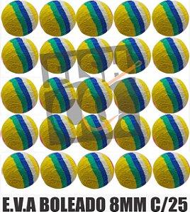 E.V.A 8MM APERTA O PLAY C/25 - BRASILEIRINHO