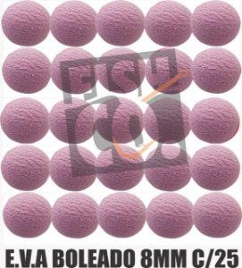 E.V.A 8MM APERTA O PLAY C/25 - ROSA CLARO
