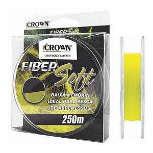 LINHA CROWN FIBER SOFT YELLOW 250m