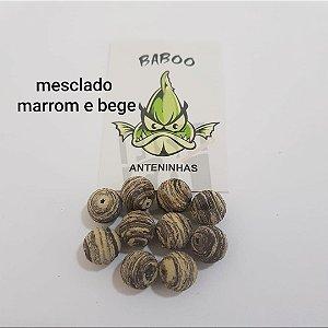 E.V.A BABOO 12MM MESCLADO MARROM E BEGE C/10