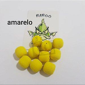 E.V.A 12MM FORMATO RAÇÃO BABOO C/10 AMARELO