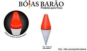 BÓIA BARÃO LUMINOSA P/ ESPADA C/ LED Nº78 - VERMELHA
