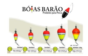 BÓIA BARÃO LAMBARI C/ CHUMBO