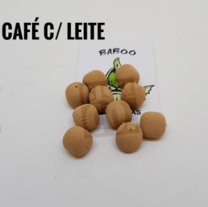 E.V.A 12MM FORMATO RAÇÃO BABOO C/10 CAFÉ COM LEITE