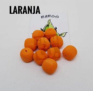 E.V.A 12MM FORMATO RAÇÃO BABOO C/10 LARANJA