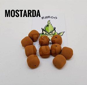 E.V.A 12MM FORMATO RAÇÃO BABOO C/10 MOSTARDA