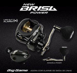 CARRETILHA MARINE SPORTS NEW BRISA POWER SUPER BIG GAME