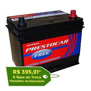 Bateria Prestocar 80Ah - PA80DAF ( Cx. Alta ) - Selada
