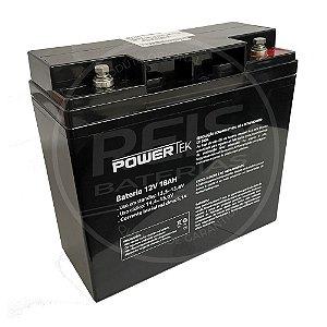 Bateria Estacionária VRLA ( AGM ) PowerTek 12V – 18Ah – EN017